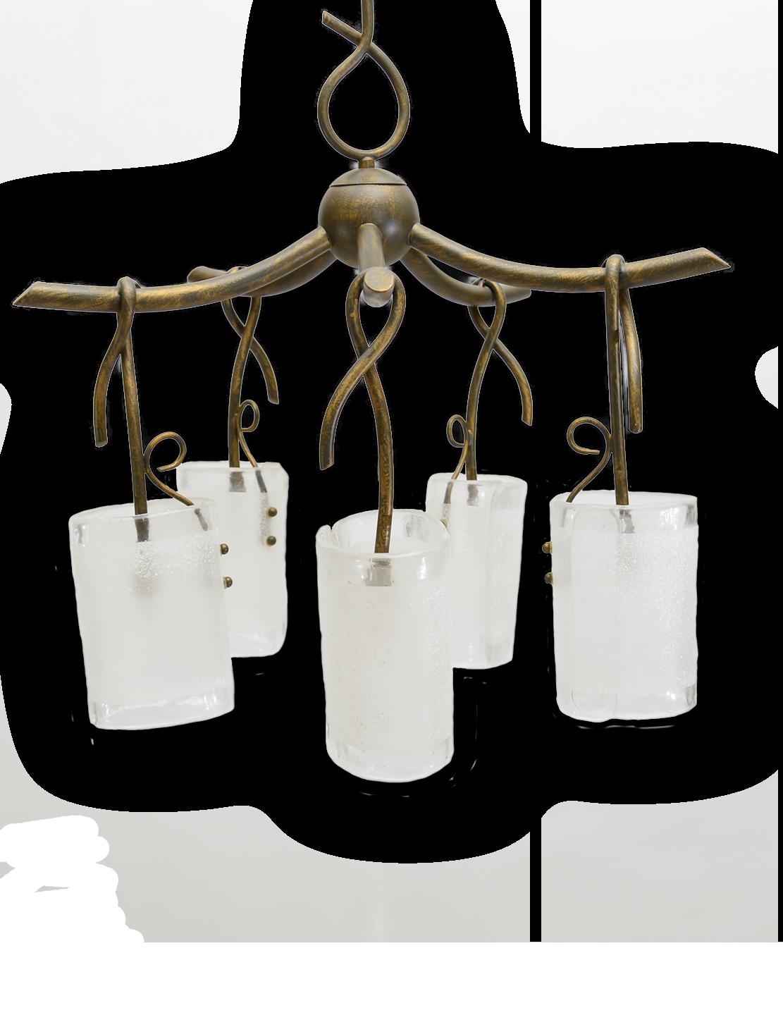 Radium Diseño firma esta lámpara colgante rústica