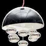Lámpara colgante Abside, de la firma Evaluz