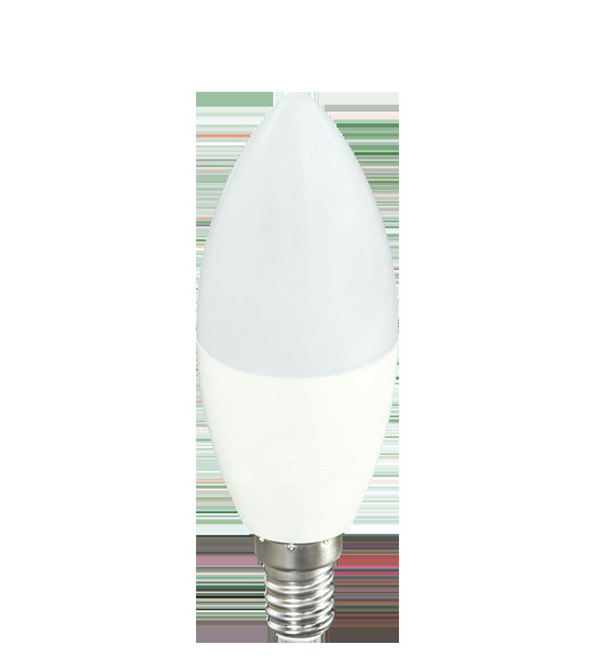 Bombilla vela led e14 4w y 6w tienda de l mparas online for Bombillas led de vela
