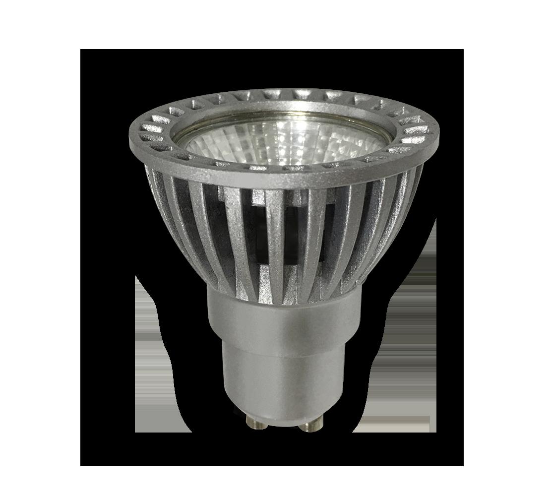Dicroica LED COB 1X6W GU10 D-ECO en detalle
