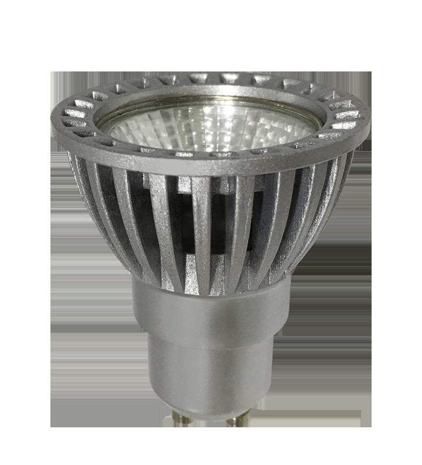 Dicroica LED COB 1X6W GU10 D-ECO