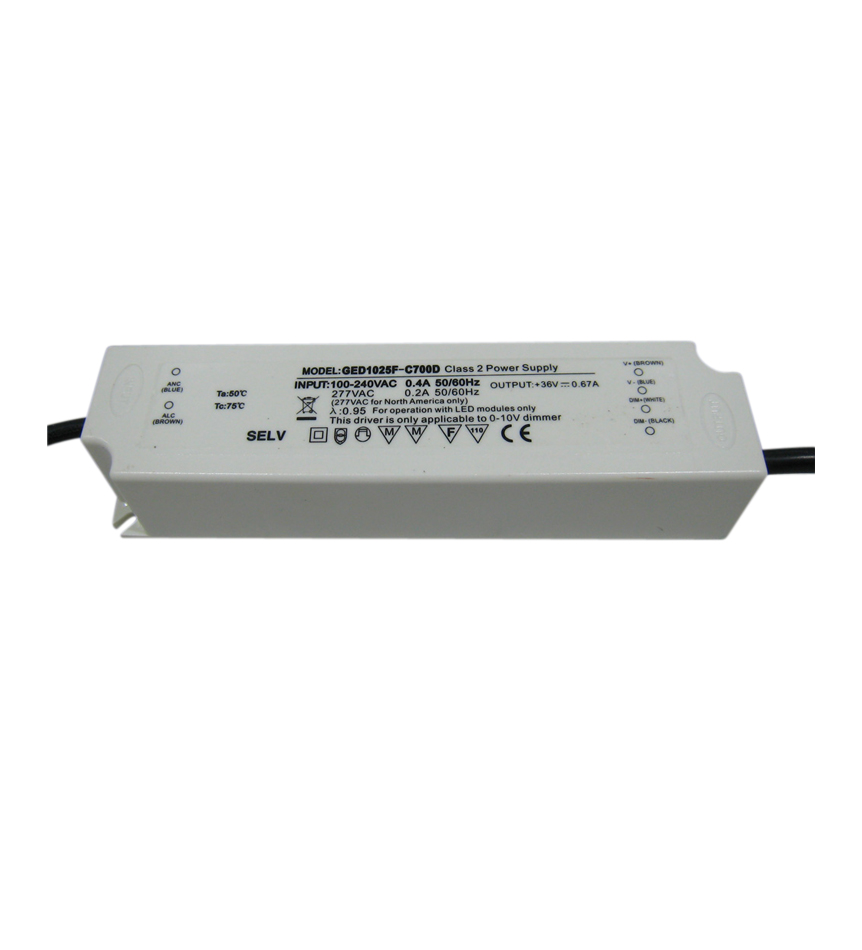 Driver 25W dimmable