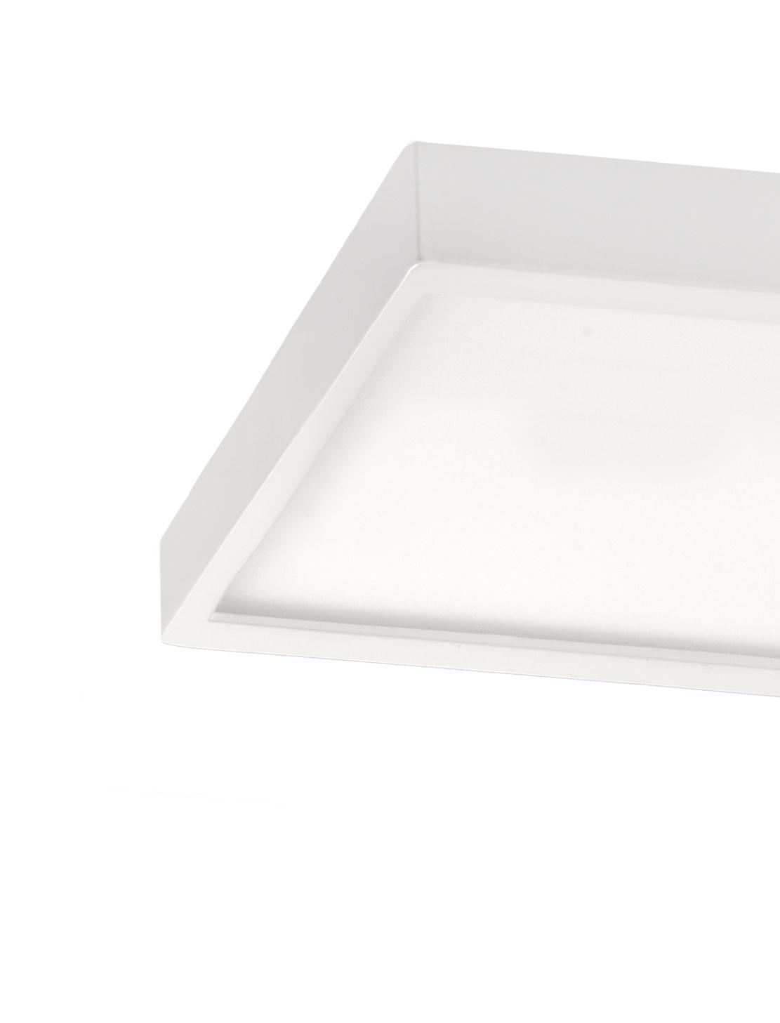 Plafón Led rectangular 56W en detalle