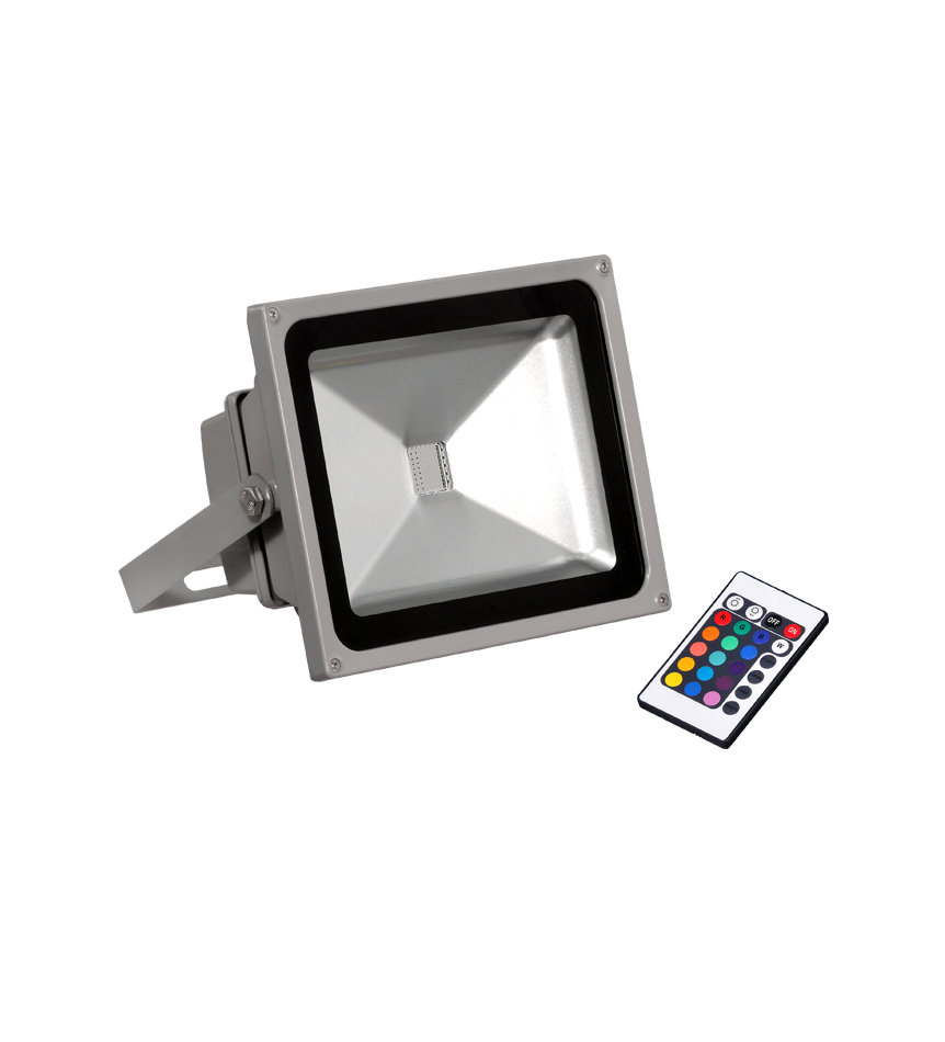 Proyector Led Ext.30w rgb