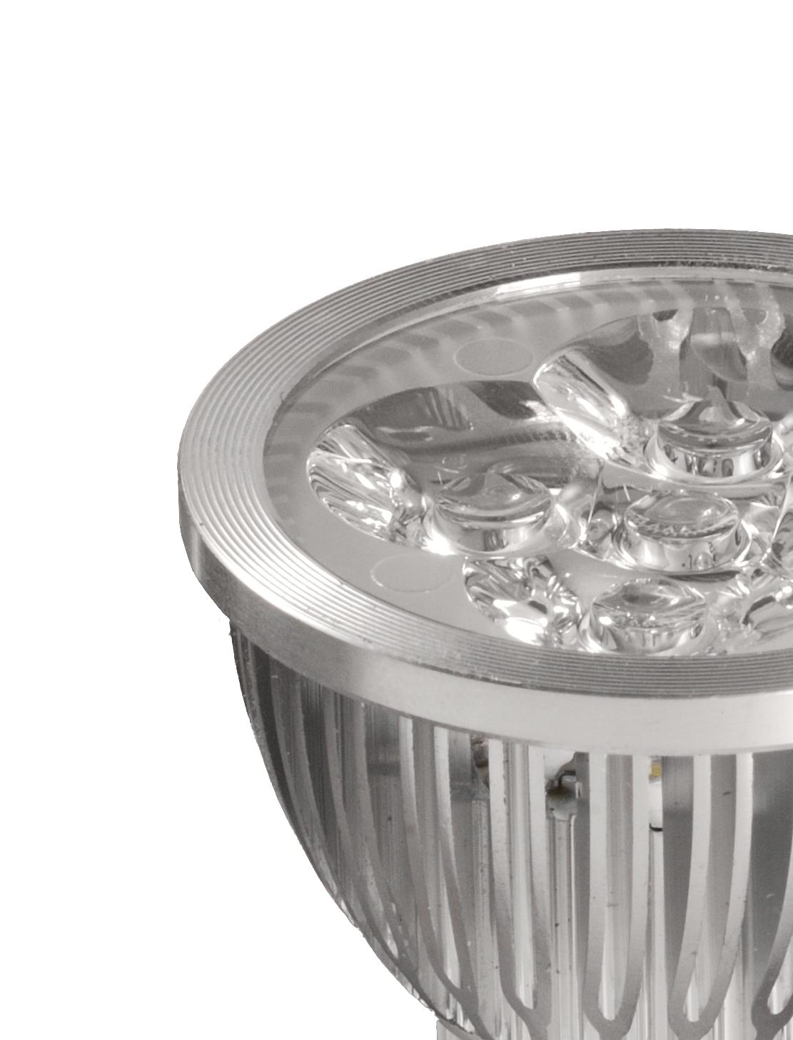 Bombilla Dicroica LED 4X1W en detalle